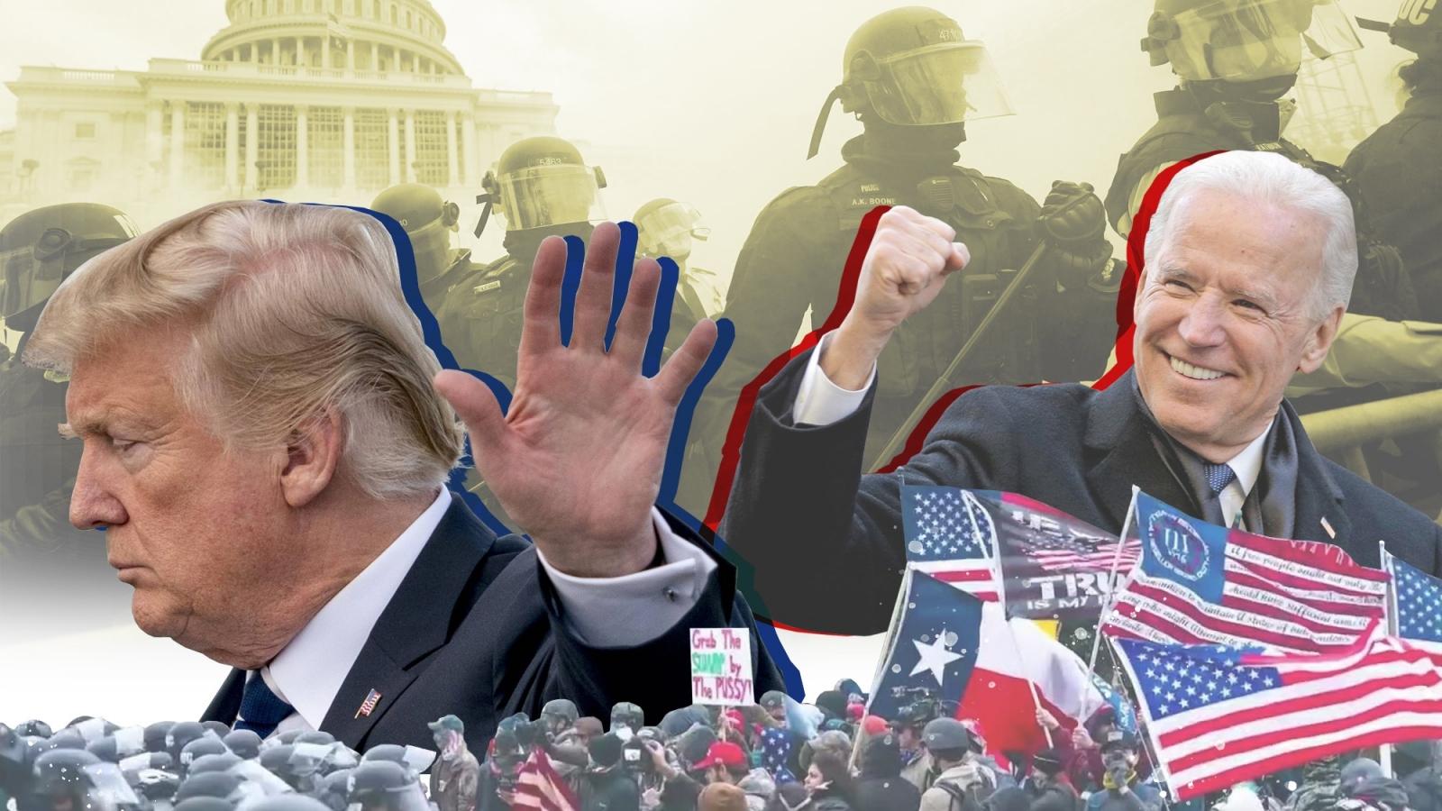 Vòng xoáy bất ổn bao trùm nước Mỹ những ngày cuối nhiệm kỳ của Tổng thống Trump