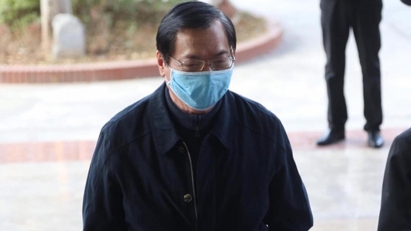 Diễn biến mới phiên tòa xét xử cựu Bộ trưởng Vũ Huy Hoàng