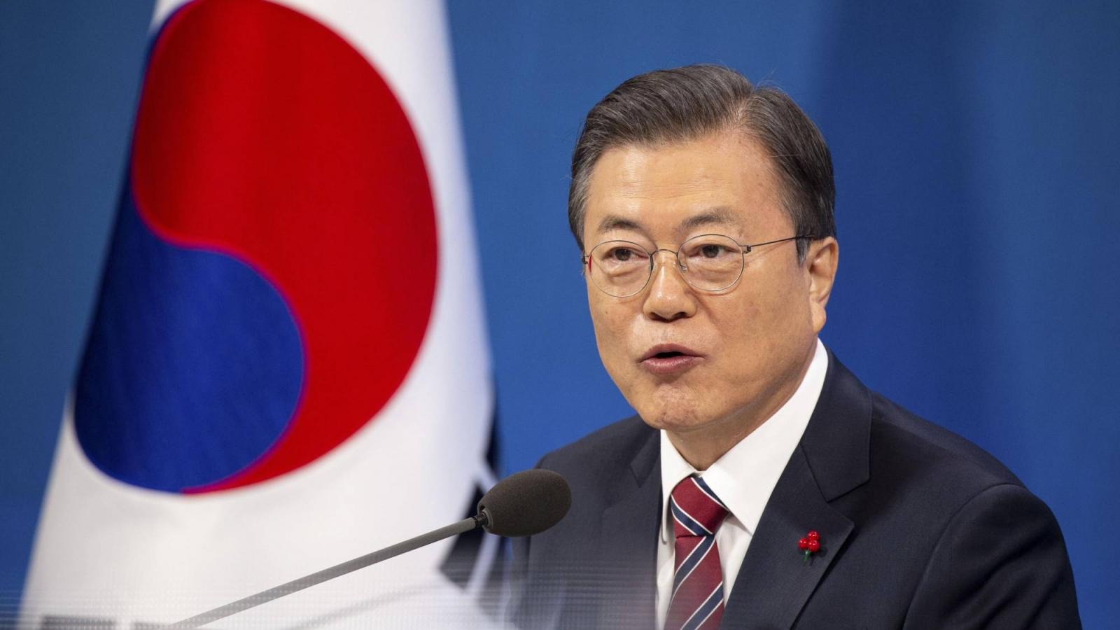 Tổng thống Hàn Quốc nói về quan hệ với Triều Tiên