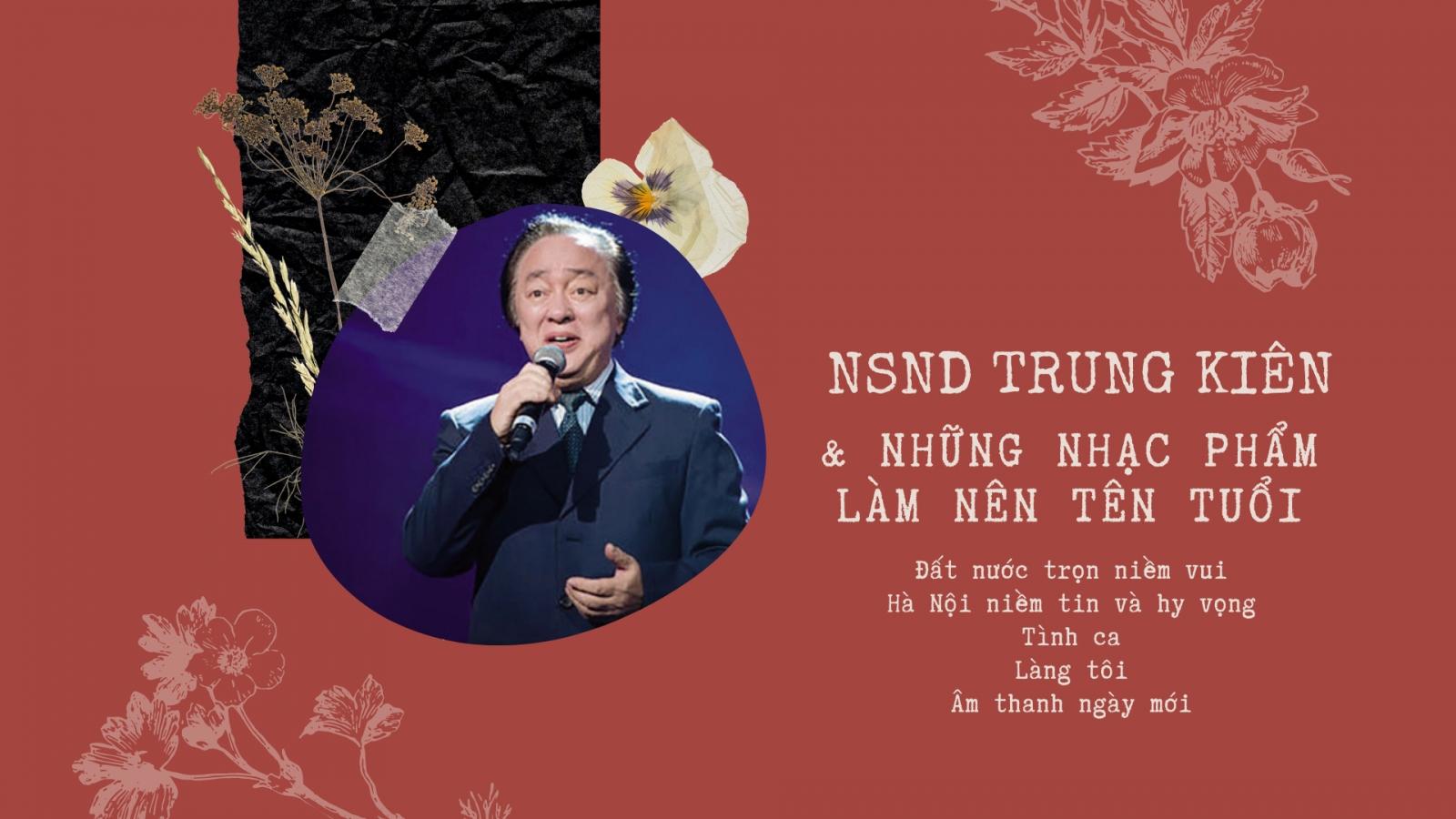 Nghe lại chất giọng nam cao hiếm có của NSND Trung Kiên