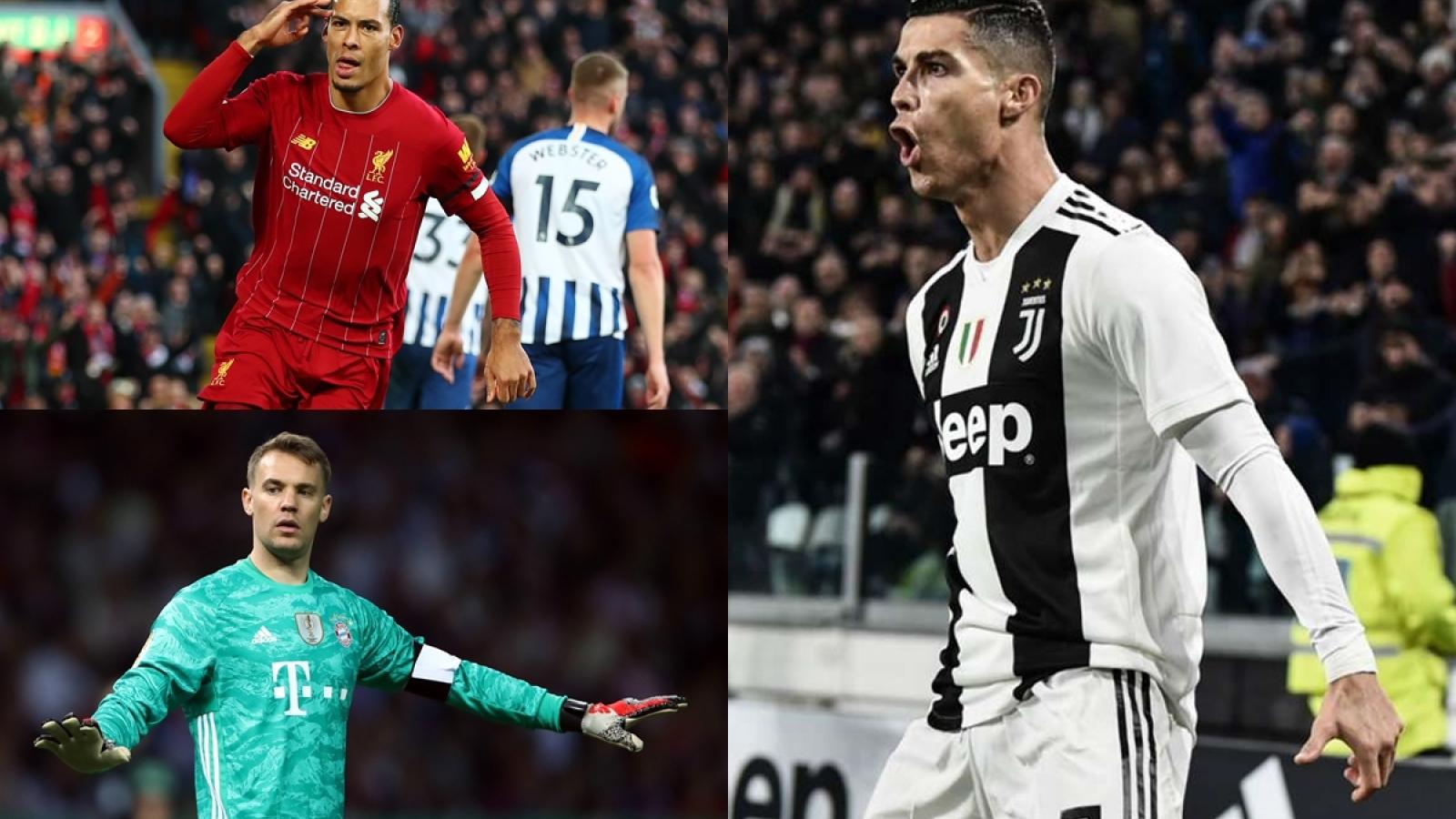 """Đội hình xuất sắc nhất châu Âu 2020: Messi """"tiếp đạn"""" cho Ronaldo"""