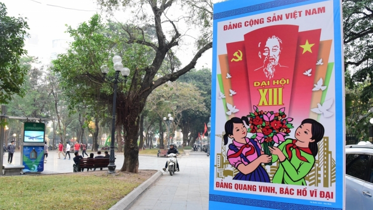 Nearly 100 foreign correspondents to cover Vietnam Party Congress online