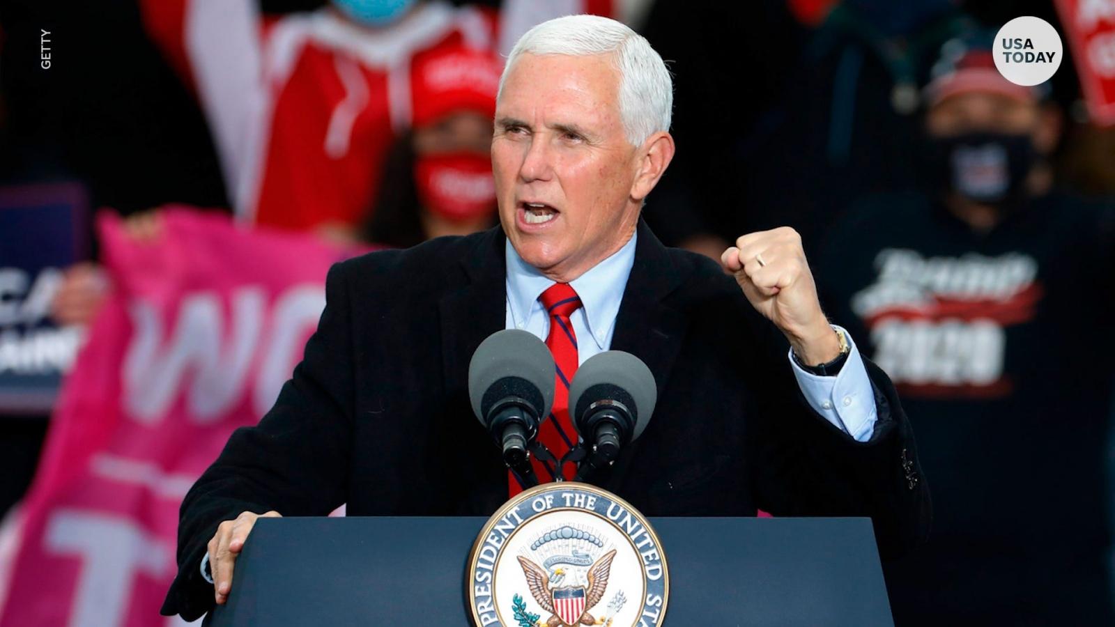 Phó Tổng thống Mike Pence nói ông không có quyền thay đổi kết quả bầu cử 2020