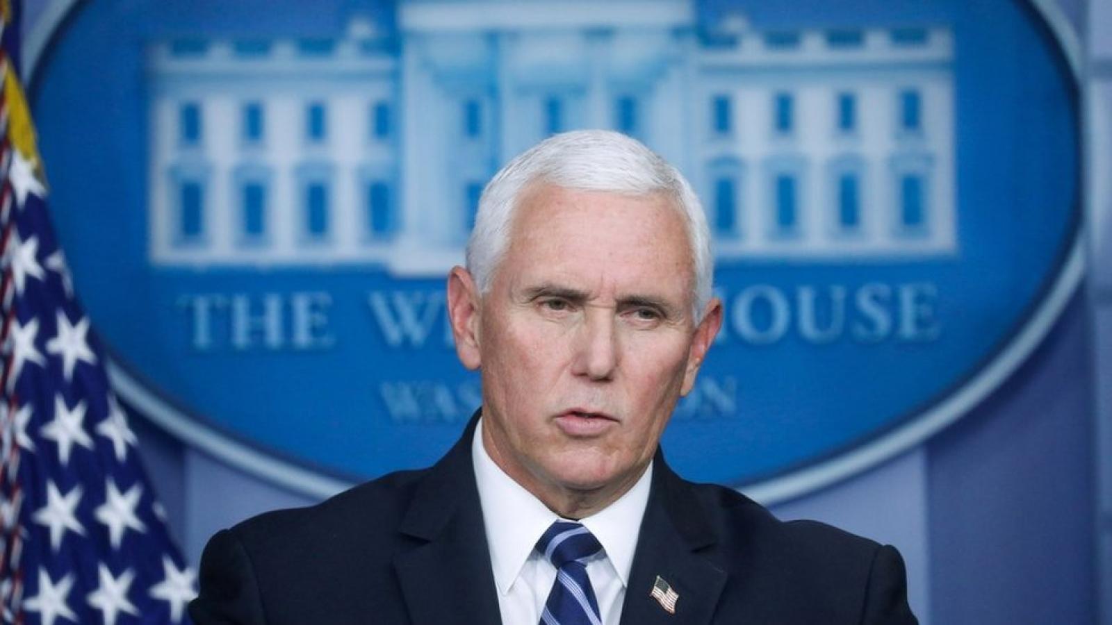 Ông Pence không loại trừ khả năng kích hoạt Tu chính án thứ 25 để phế truất tổng thống
