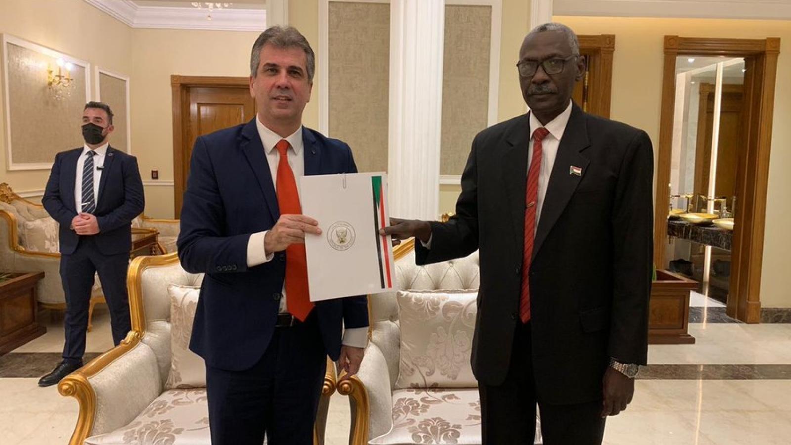 Phái đoàn cấp cao của Israel thăm Sudan, thảo luận về hiệp định hòa bình song phương