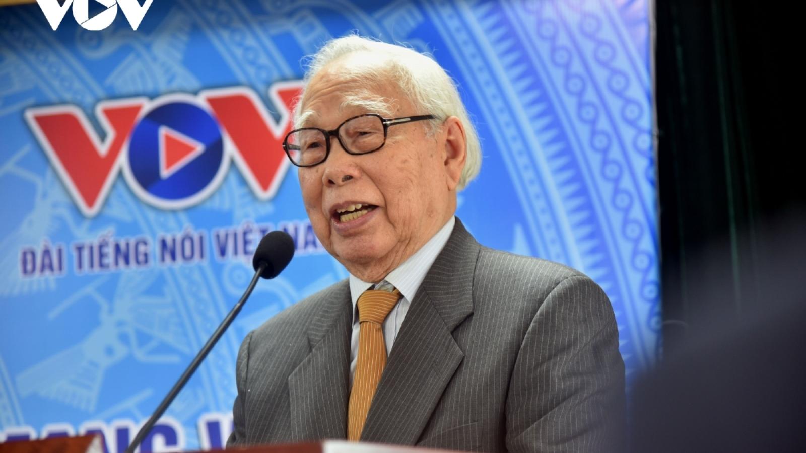 Nhà báo Phan Quang: Hôm nay hơn hôm qua, ngày mai vượt hôm nay