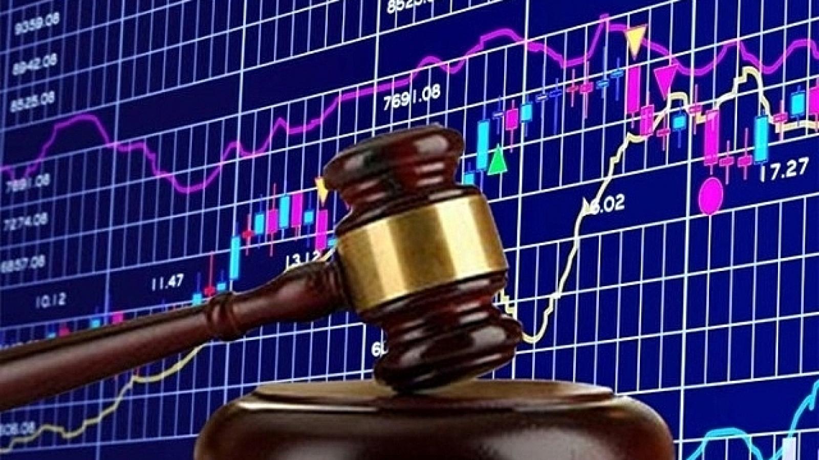 Thao túng cổ phiếu, một người bị phạt tiền hơn nửa tỷ đồng