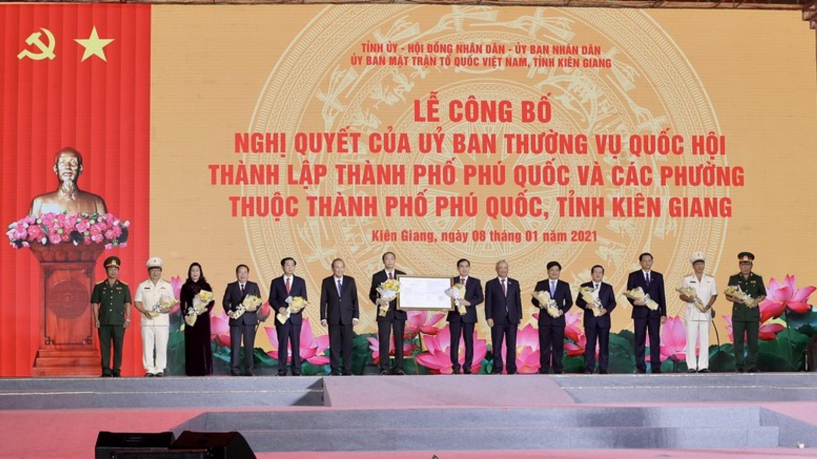 KĐT mới Sun Grand City New An Thoi tưng bừng với sự kiện Phú Quốc lên thành phố
