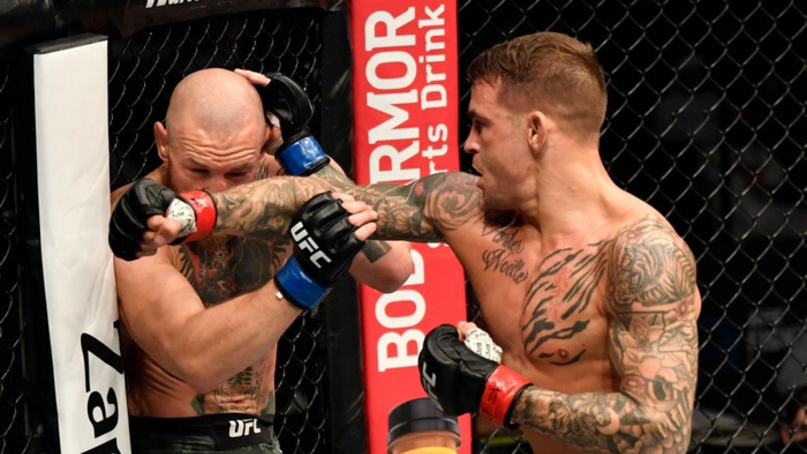 """""""Gã điên"""" McGregor bị Poirier hạ knock-out tại UFC 257"""