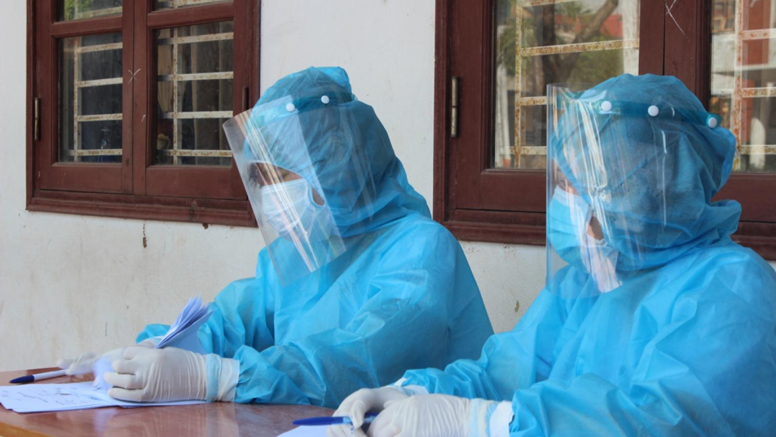 Lịch trình di chuyển của ca nghi nhiễm SARS-CoV-2 ở Nam Từ Liêm, Hà Nội