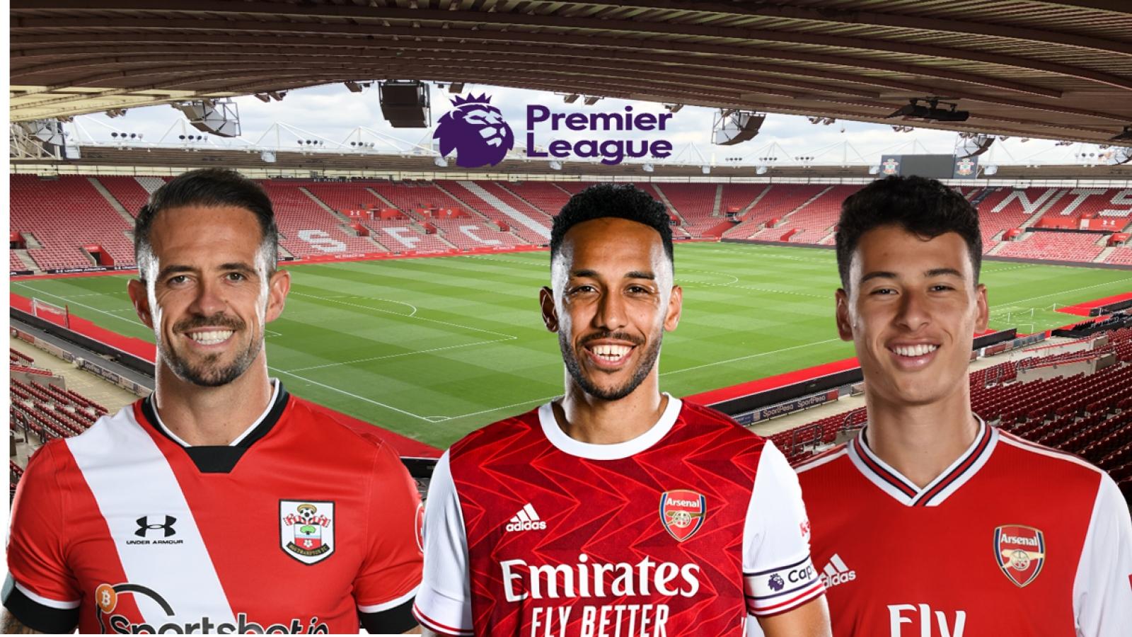 Dự đoán kết quả, đội hình xuất phát trận Southampton - Arsenal
