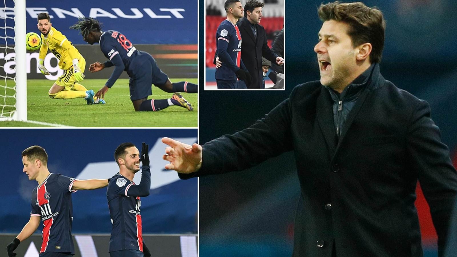 PSG giành chiến thắng đầu tiên dưới thời HLV Mauricio Pochettino