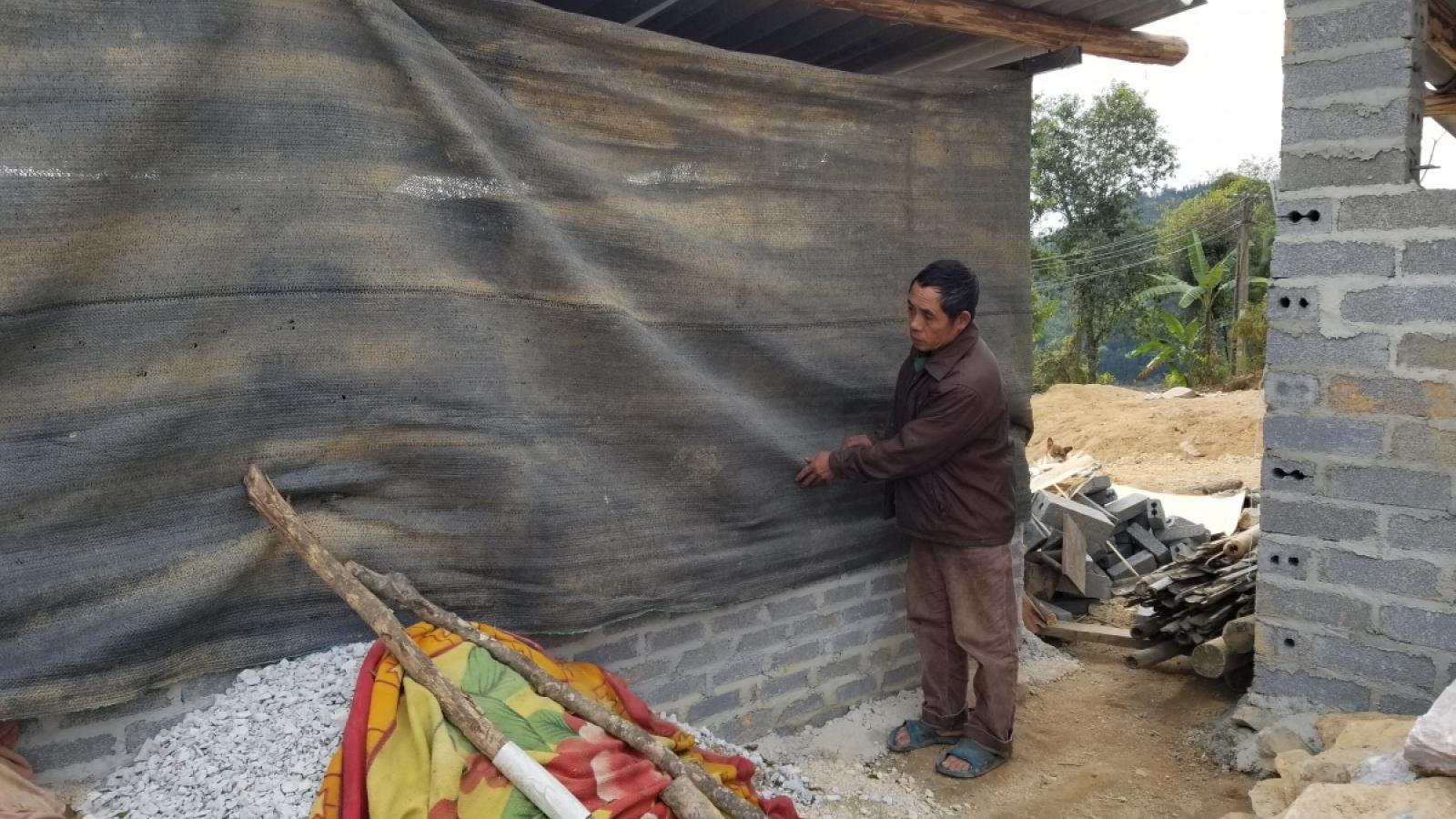 Người dân vùng núi cao ở Nghệ An vật lộn với giá rét