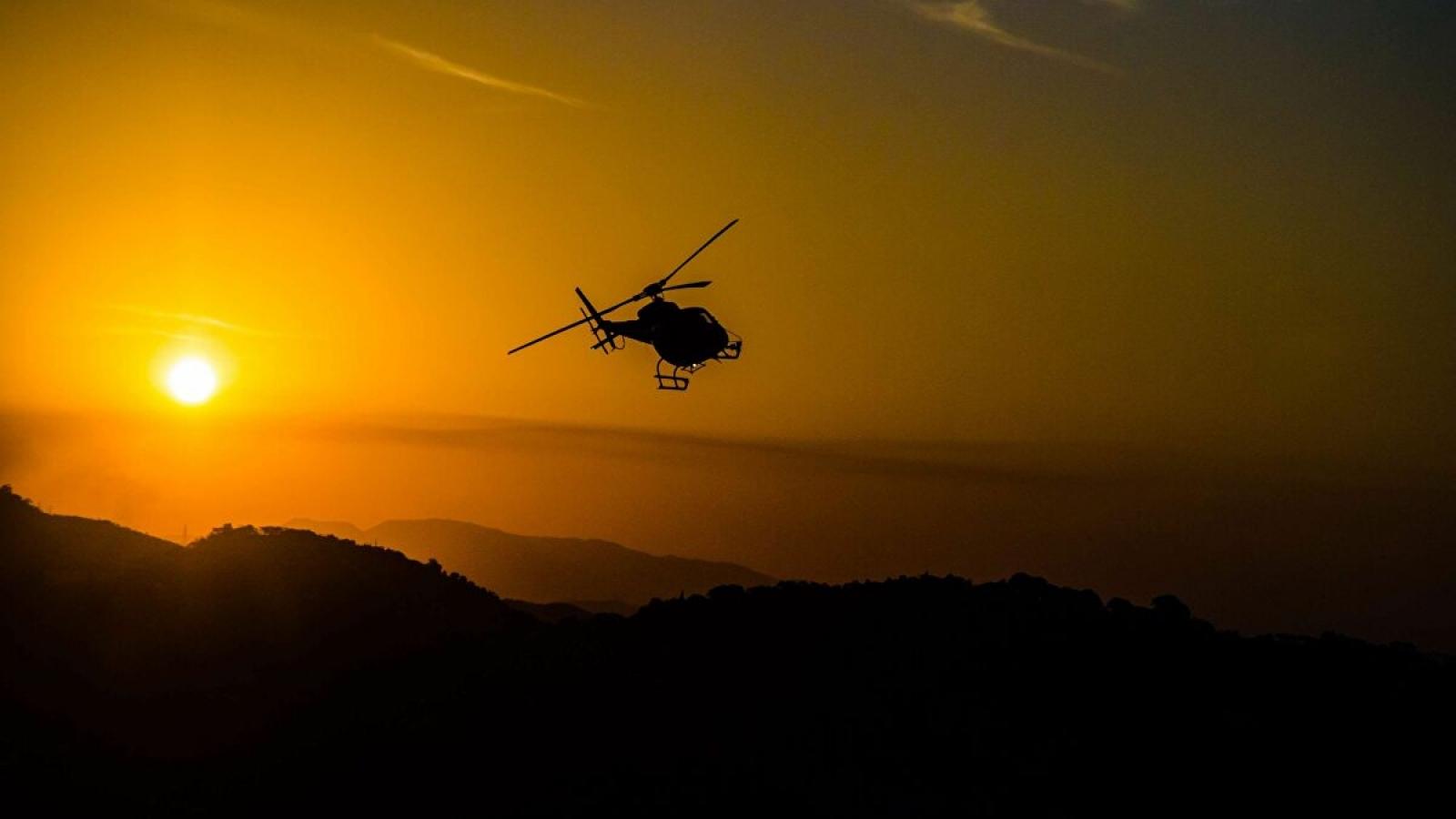 Rơi trực thăng quân sự ở Cuba, 5 người thiệt mạng