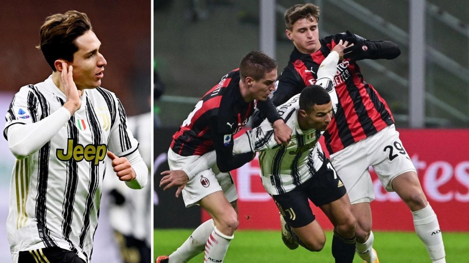 """CẬN CẢNH: Ronaldo làm """"chim mồi"""" để đàn em tỏa sáng trước AC Milan"""