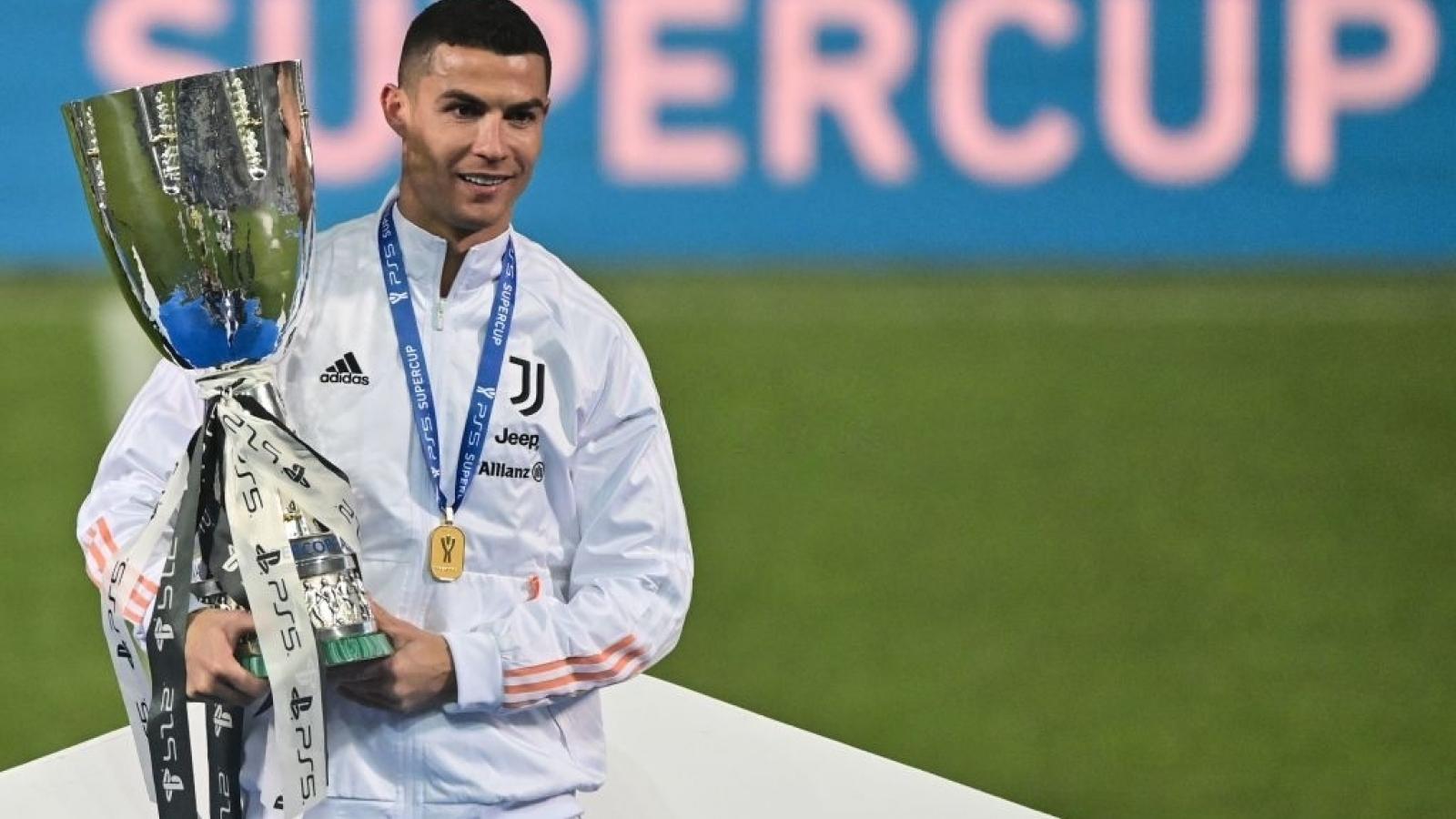 Ronaldo ghi bàn nhiều nhất lịch sử bóng đá thế giới