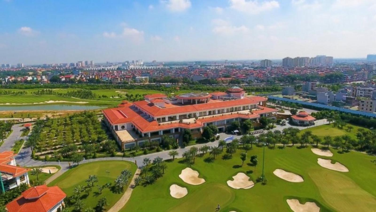 Dự án sân golf Long Biên tuân thủ quy định của pháp luật
