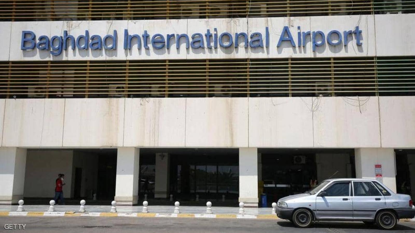 Sân bay quốc tế Baghdad (Iraq) bị tấn công tên lửa