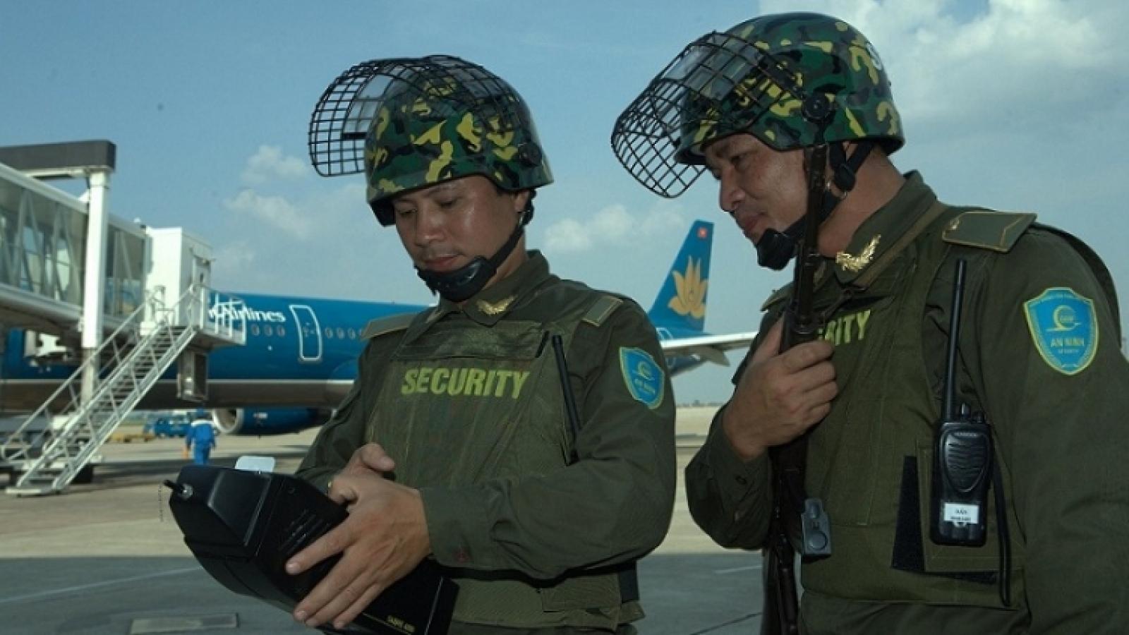 Hàng không đảm bảo an ninh cấp độ 1 phục vụ Đại hội Đảng