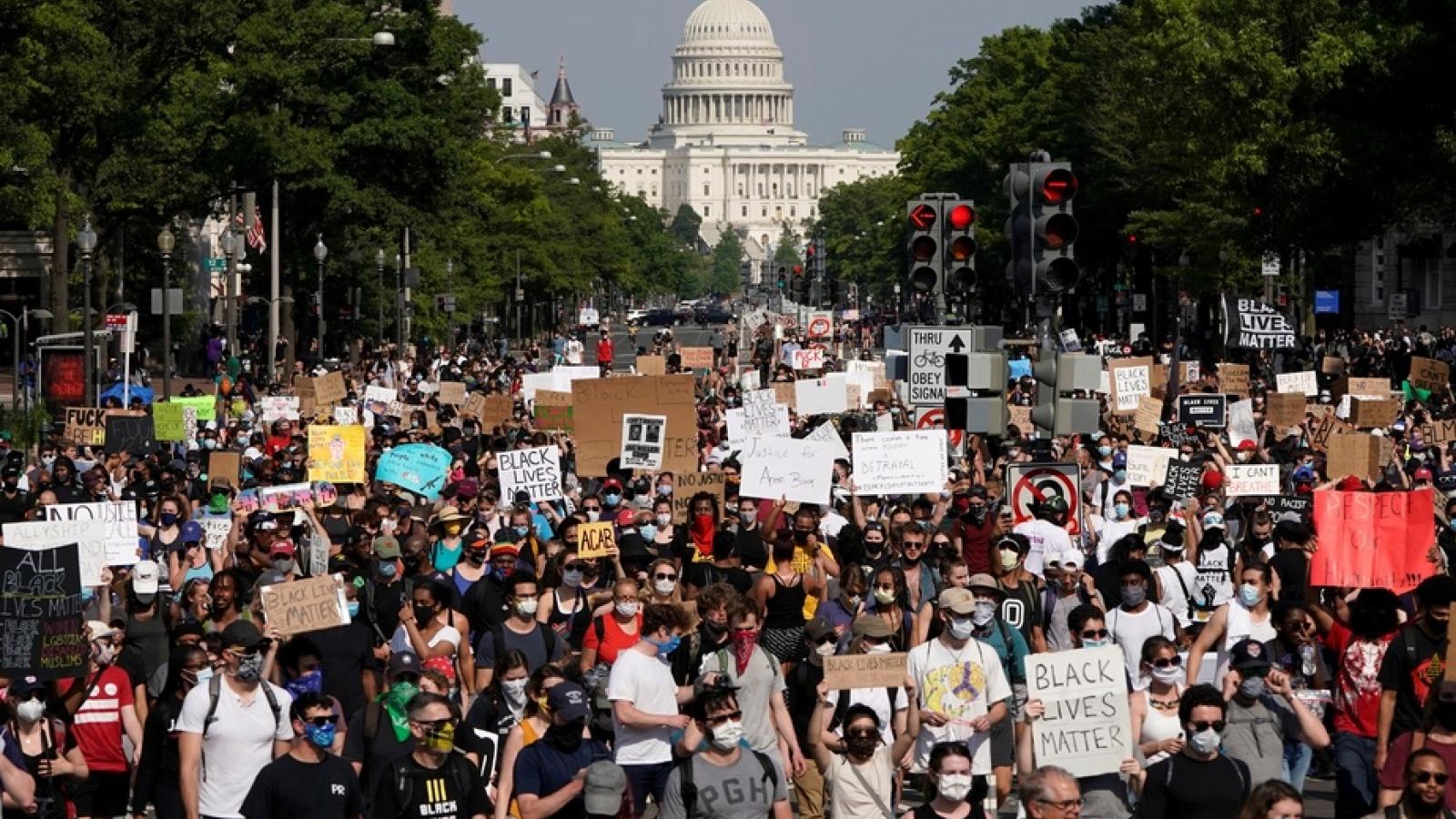 Washington không muốn có biểu tình trước lễ nhậm chức Tổng thống Mỹ