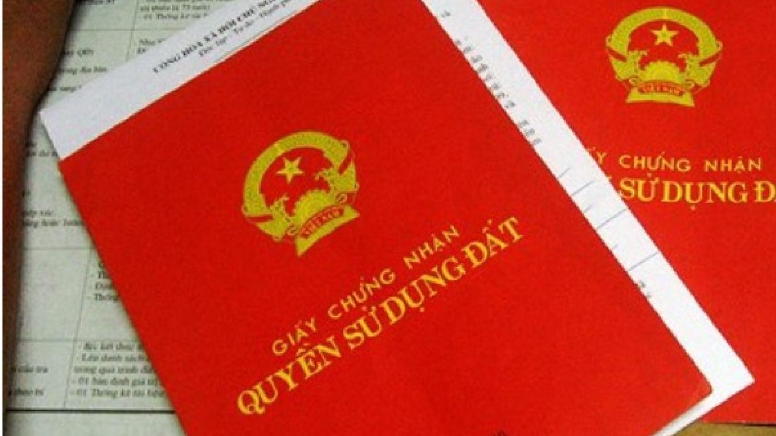 Một số quy định mới về 'sổ đỏ' sắp được áp dụng