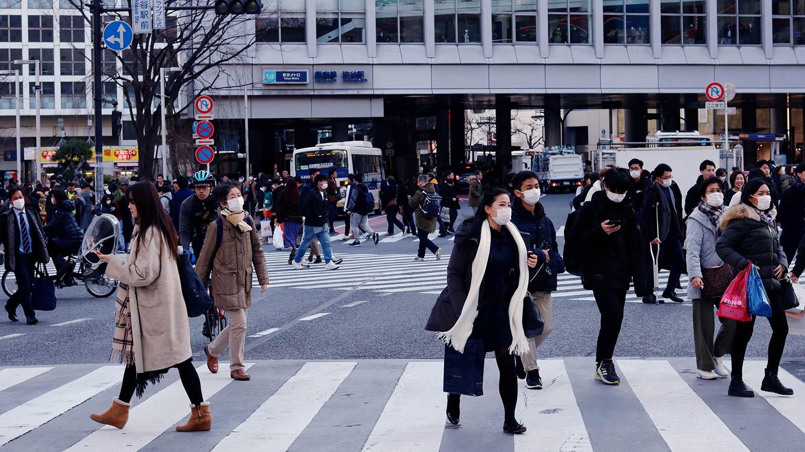Nhật Bản gồng mình đối phó với dịch Covid-19 và thời tiết cực đoan
