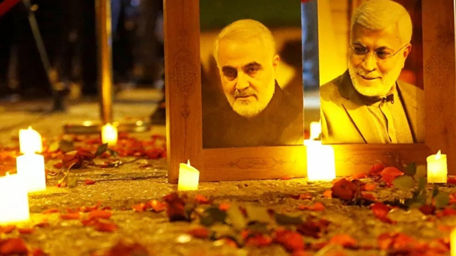Iran tưởng niệm 1 năm tướng Soleimani bị Mỹ ám sát bằng tên lửa phóng từ UAV