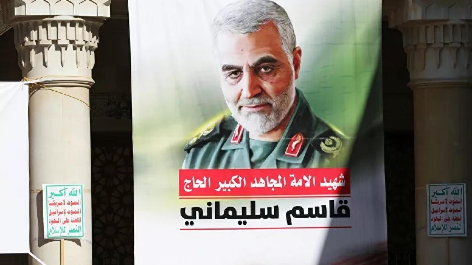 """Iran vẫn tức giận vụ tướng Soleimani bị ám sát và muốn """"đuổi"""" Mỹ khỏi Iraq, Syria"""