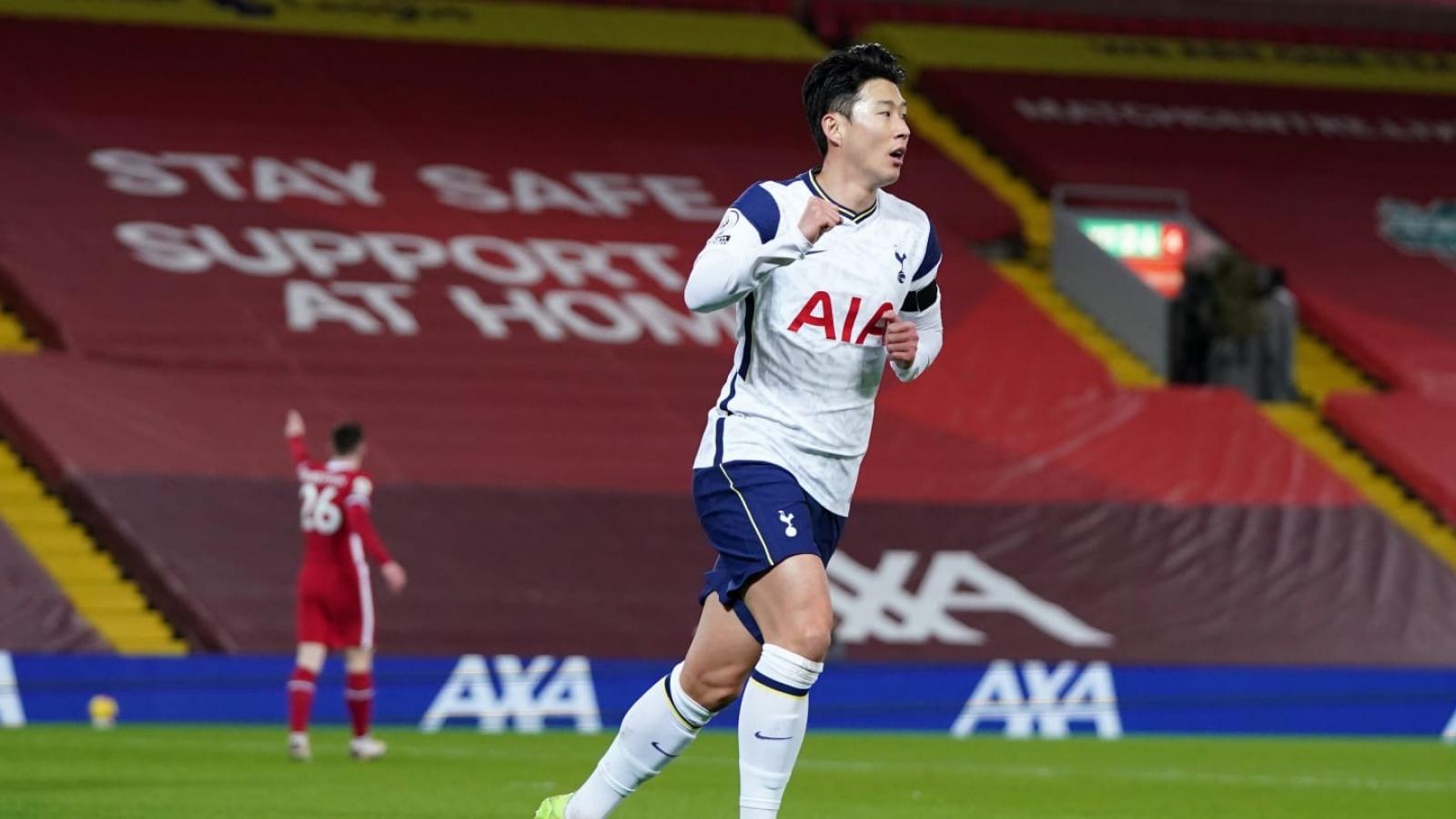 """Son Heung Min nhận danh hiệu """"Cầu thủ quốc tế xuất sắc nhất năm 2020"""""""