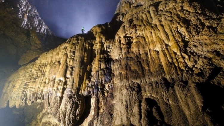Tourism on track in the world's largest cave: AFP