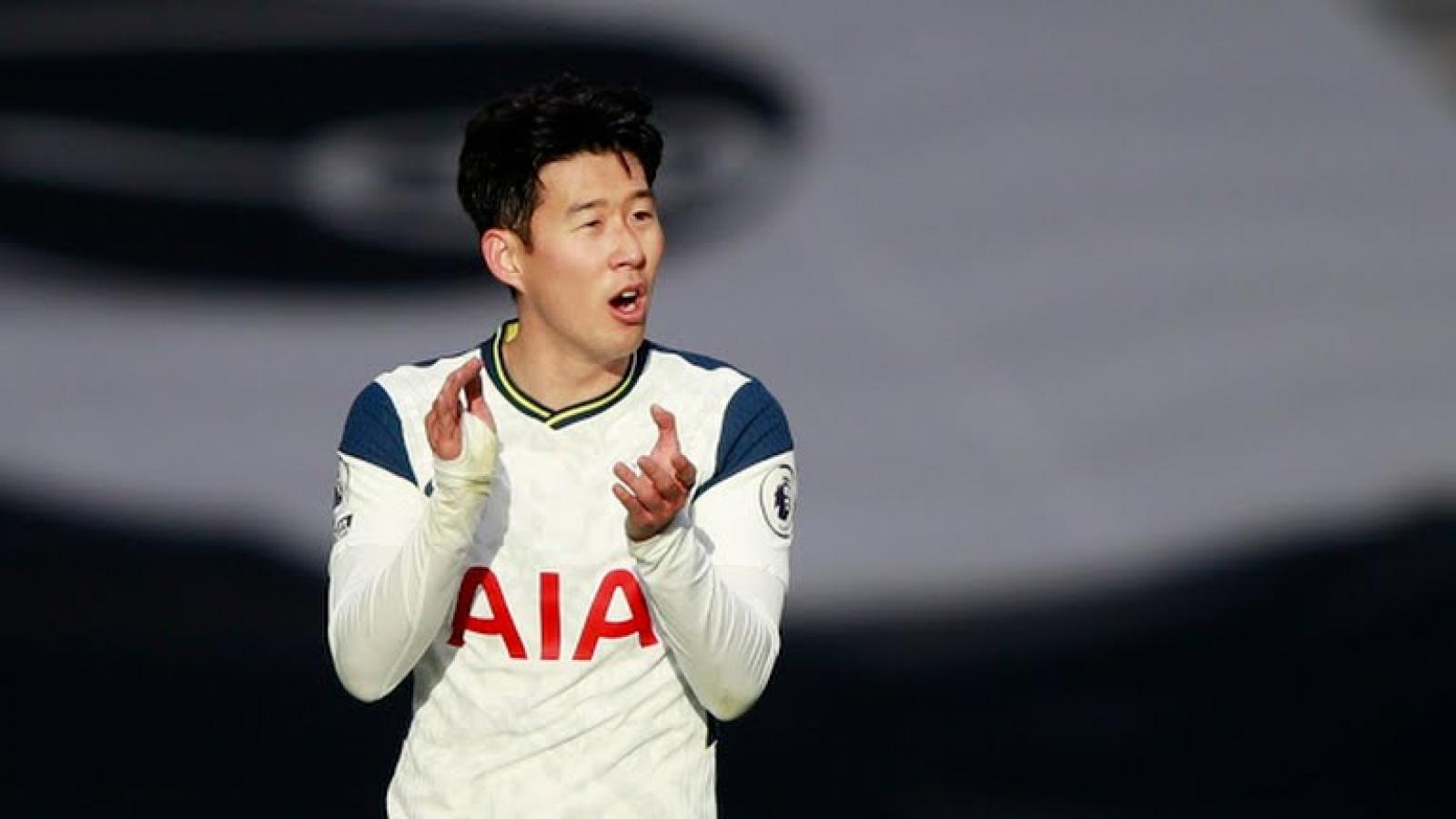 Son Heung-min cán cột mốc ấn tượng trong màu áo Tottenham