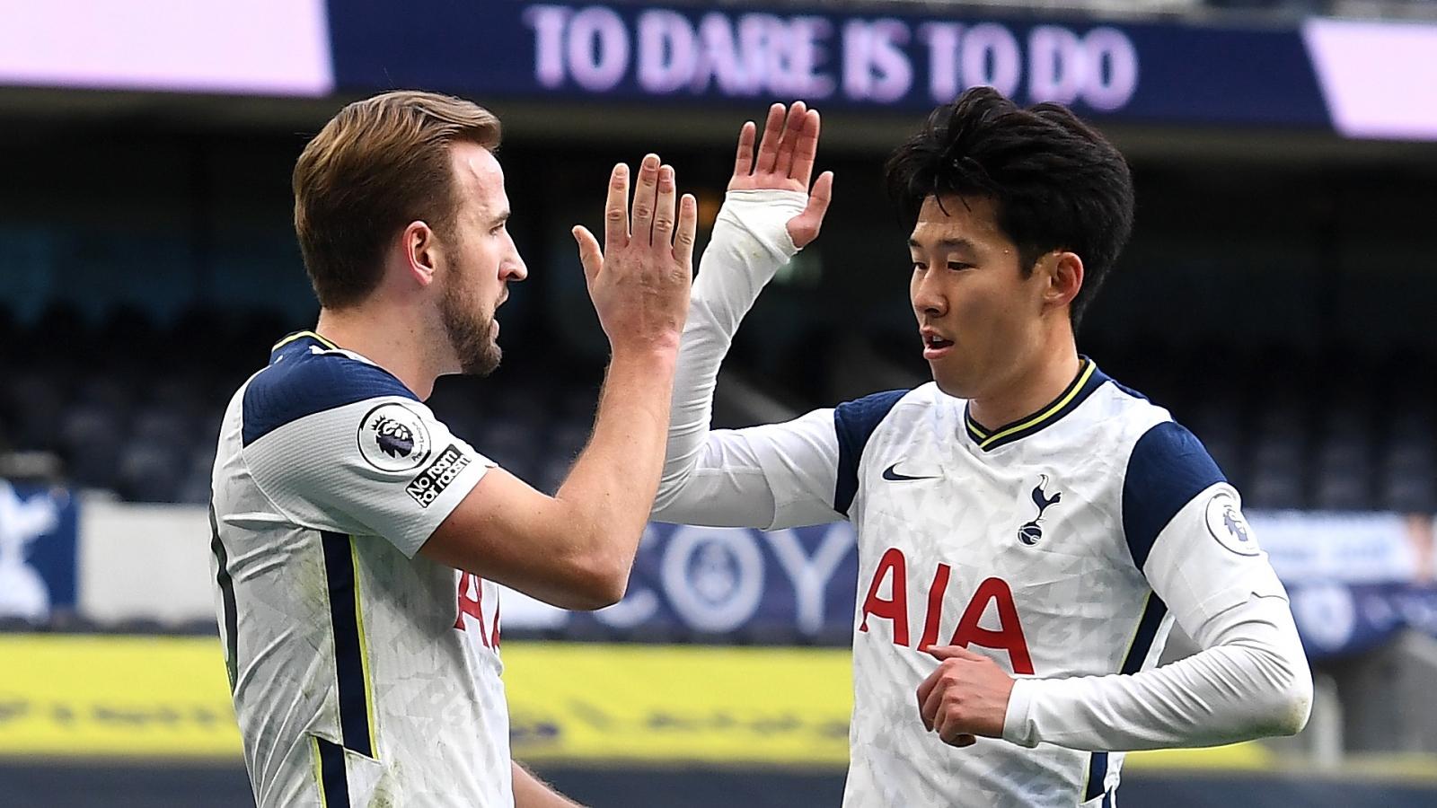 Son-Kane thăng hoa, Tottenham trở lại mạch thắng