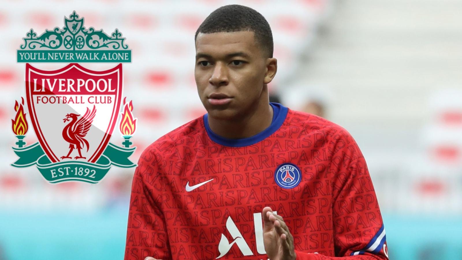 """Chuyển nhượng 26/1/2021: Liverpool quyết có Mbappe, MU bị """"cướp"""" sao trẻ"""