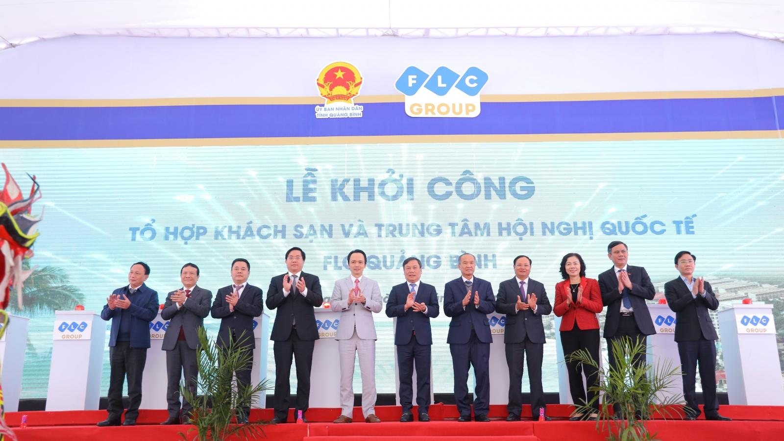 Khởi công Tổ hợp khách sạn và Trung tâm Hội nghị Quốc tế tại Quảng Bình