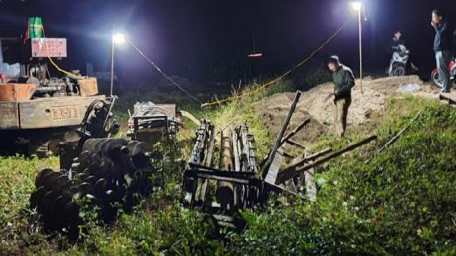 Khởi tố 3 bị can vụ thiết bị xây dựng đè chết thương tâm 2 bé trai ở Bắc Ninh