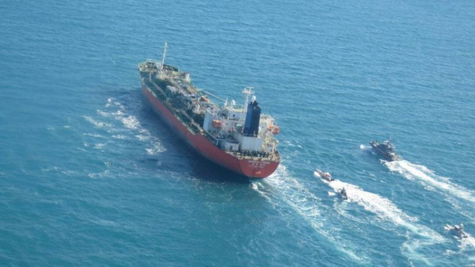 Iran bắt tàu chở dầu Hàn Quốc có thuyền viên Việt Nam