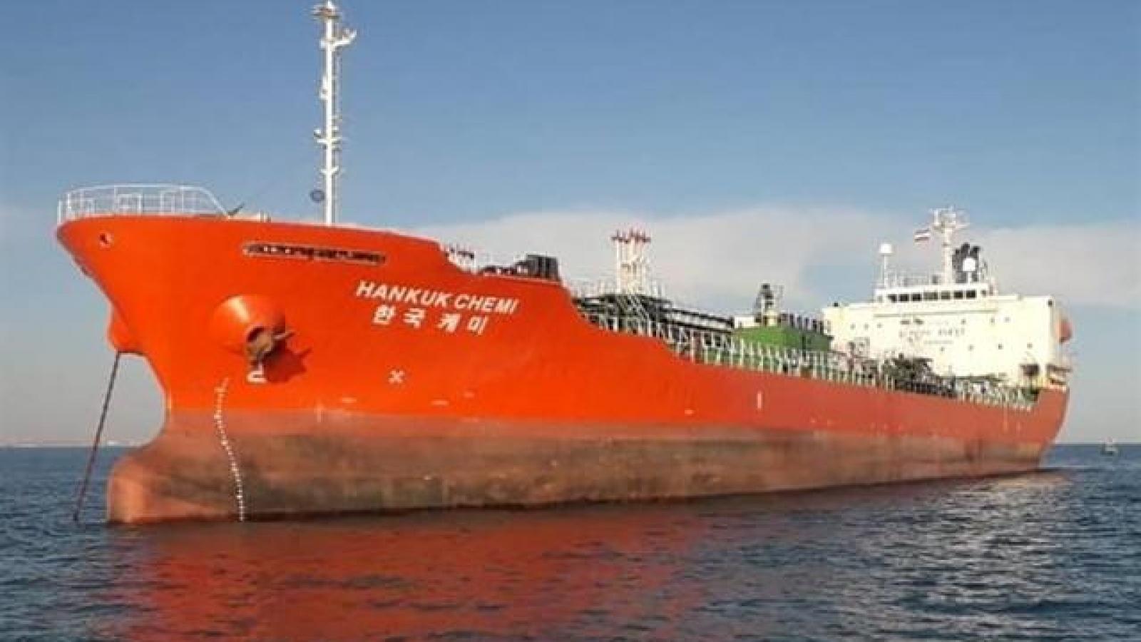 Hàn Quốc và Iran bế tắc trong đàm phán về vụ tàu hóa chất