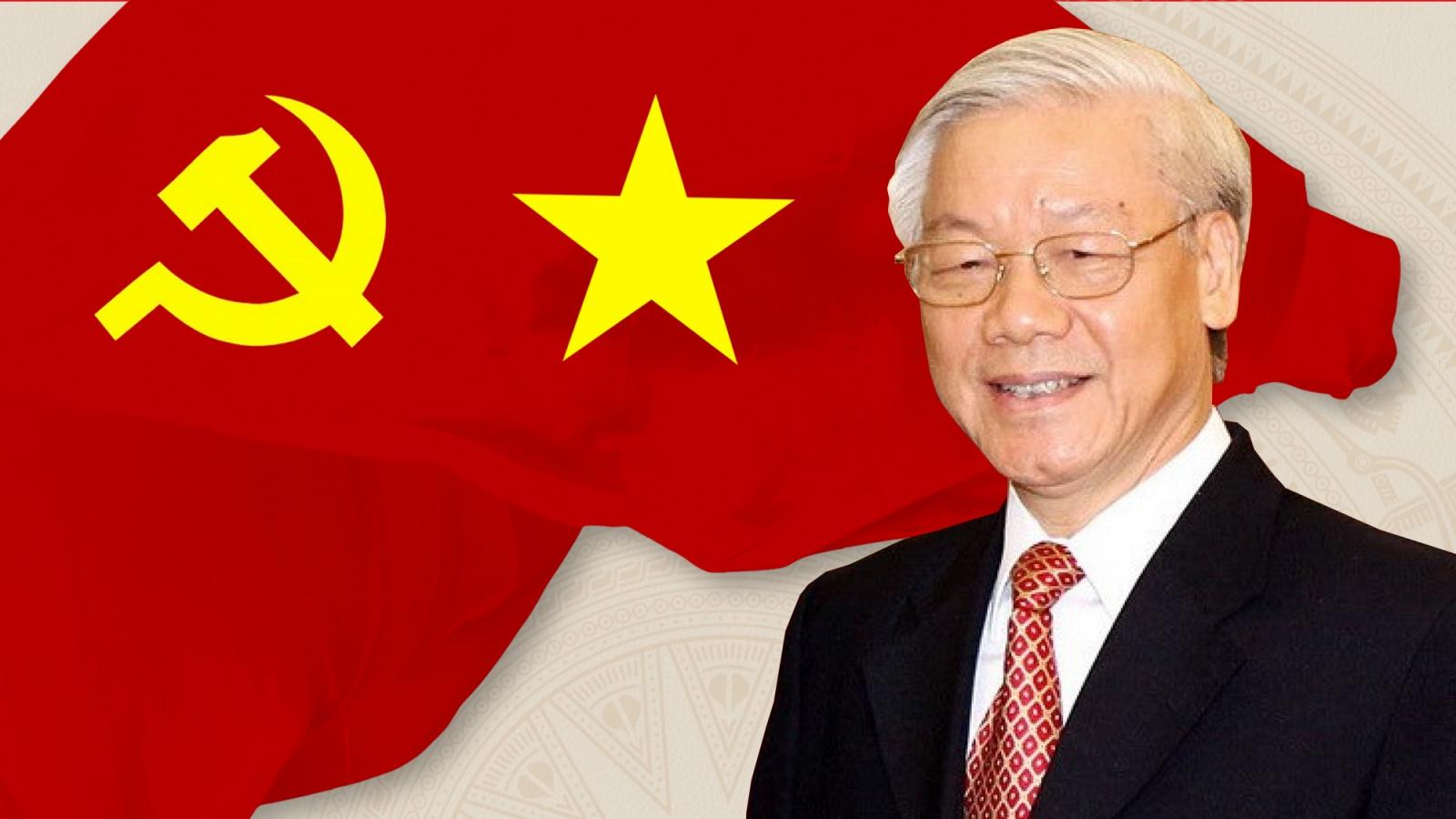 Quá trình công tác của Tổng Bí thư, Chủ tịch nước Nguyễn Phú Trọng