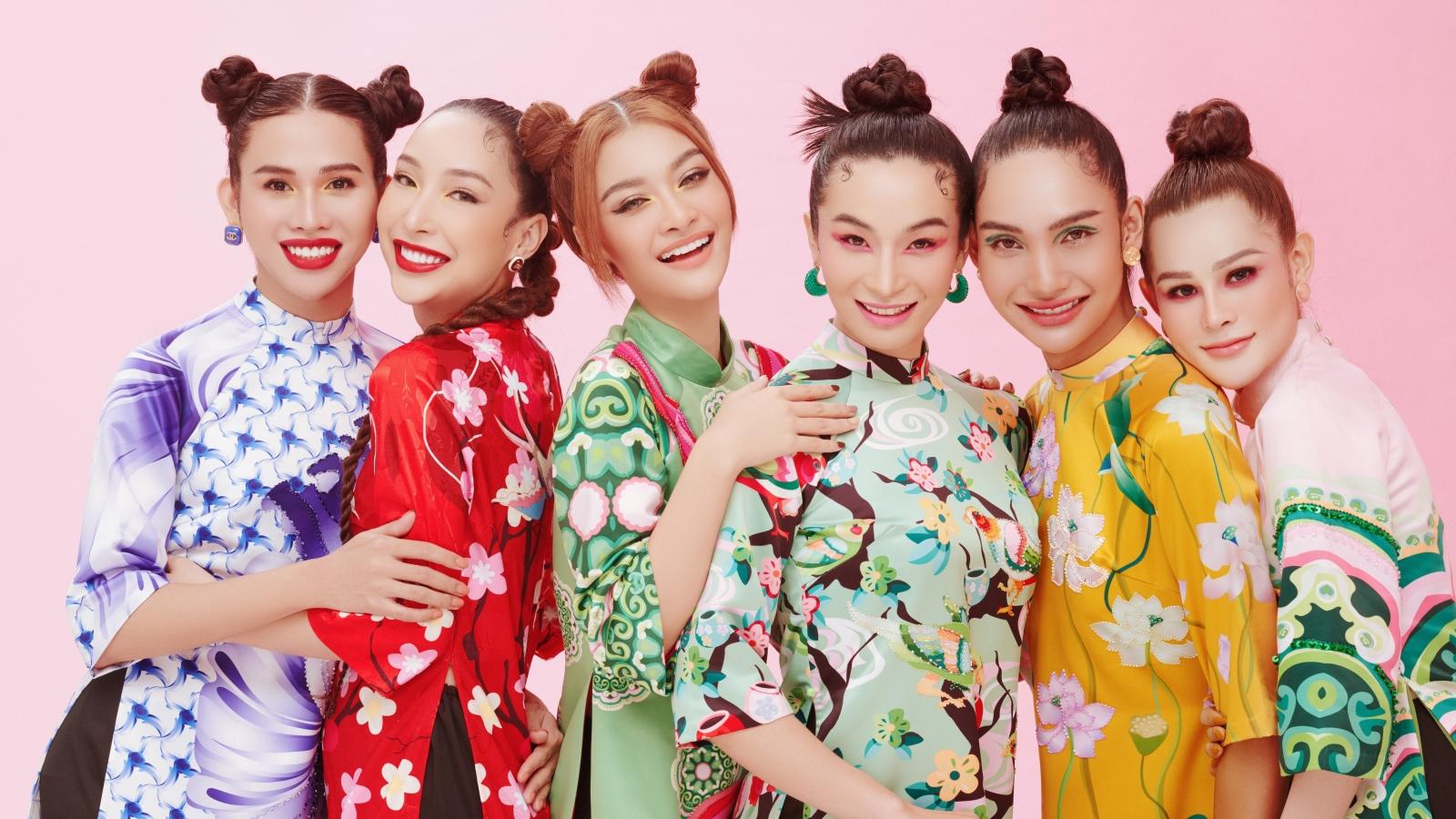 Á hậu Kiều Loan cùng 5 mỹ nhân chuyển giới tung bộ ảnh đẹp sắc sảo