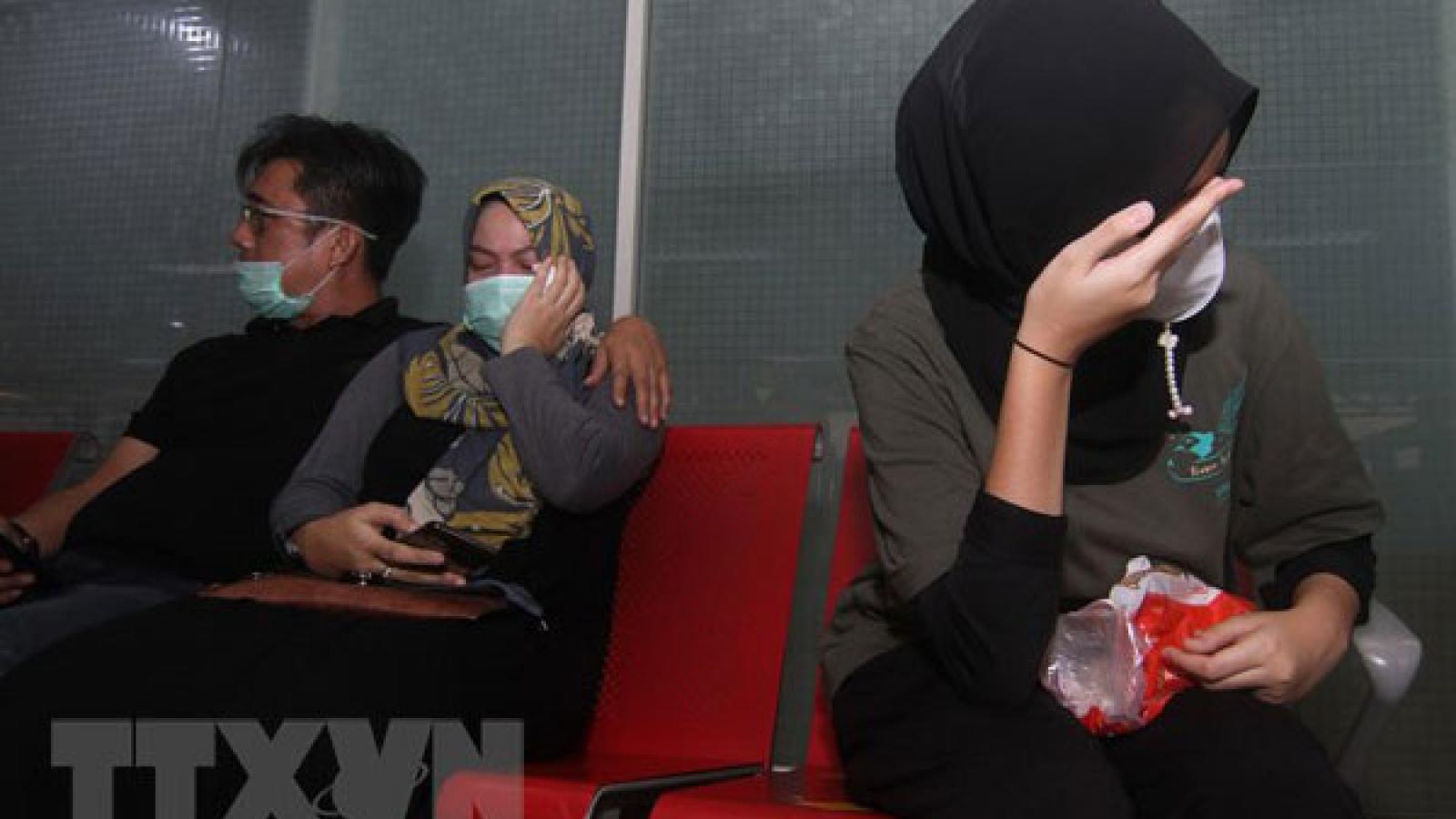 Indonesiahọp báo thông tin về vụ máy bay chở 62 người gặp nạn rơi xuống biển