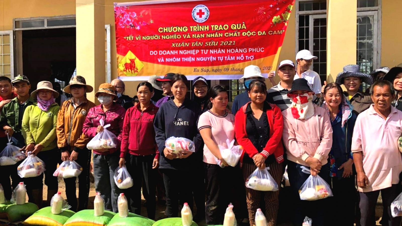 Hội chữ thập đỏ Đắk Lắk vận động gần 77 tỷ đồng cho công tác nhân đạo