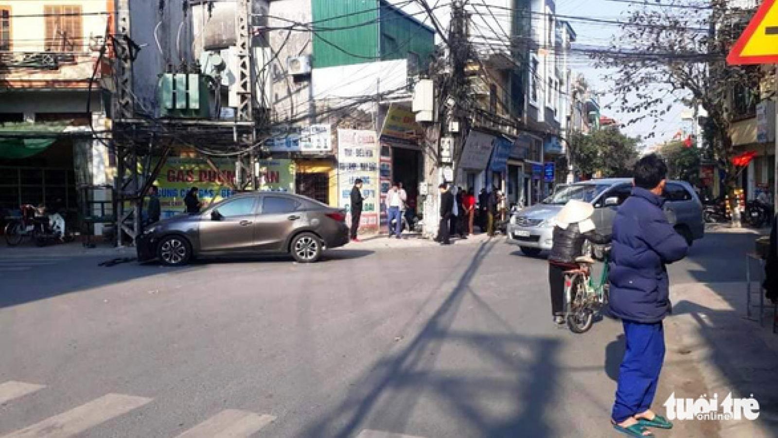 Nam thanh niên tử nạn sau va chạm với ô tô do trưởng Phòng kinh tế - hạ tầng cầm lái