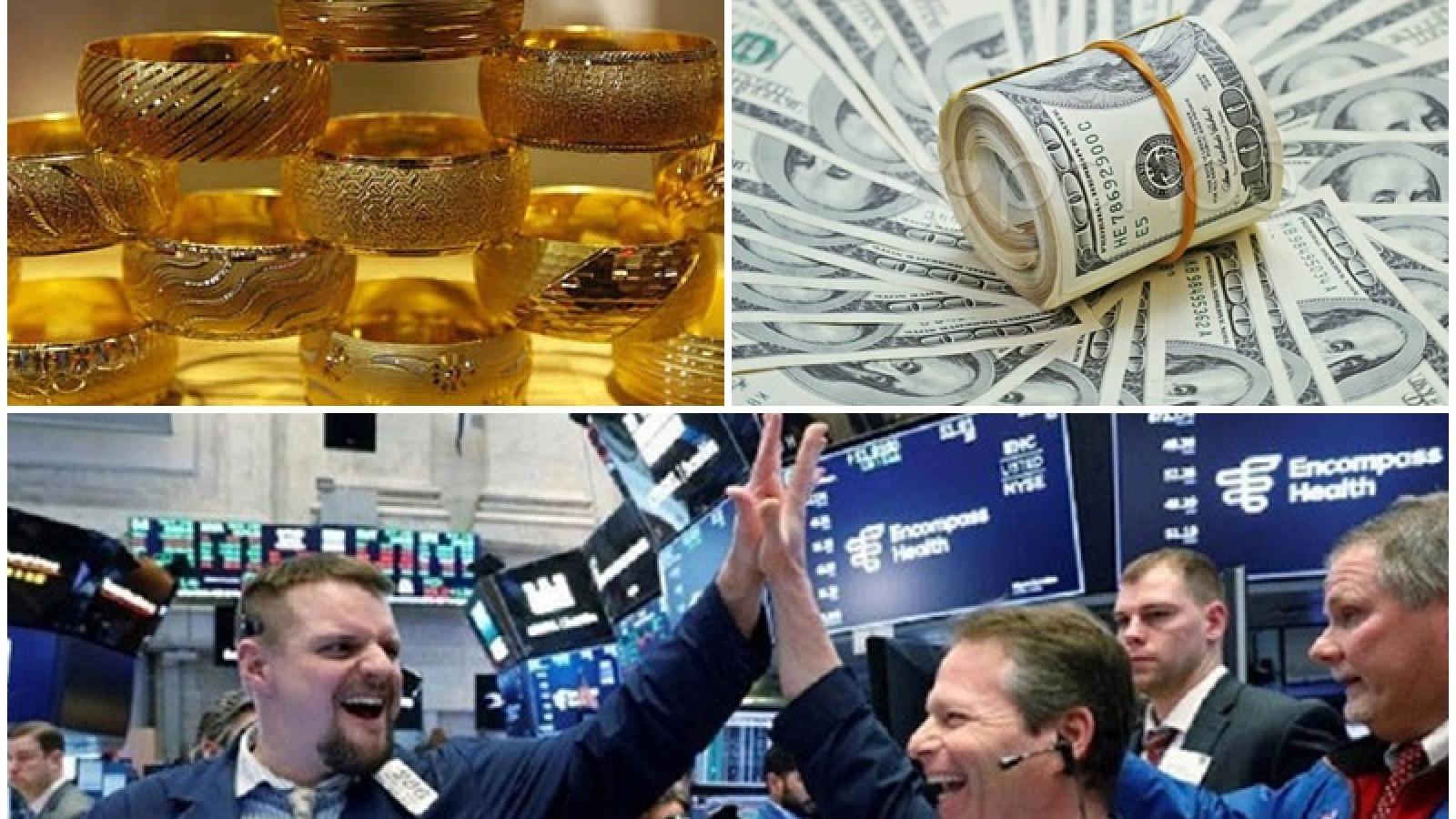 """Thị trường chứng khoán, vàng, đô la """"sôi sục"""" sau khi Mỹ có Tổng thống mới"""