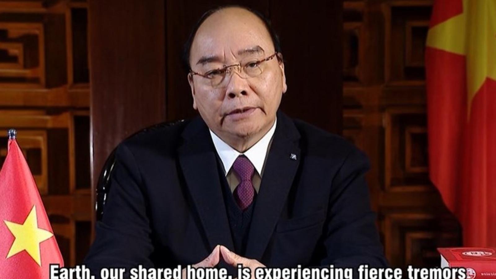 Thủ tướng Nguyễn Xuân Phúc gửi Thông điệp tớiHội nghịvề thích ứng với biến đổi khí hậu