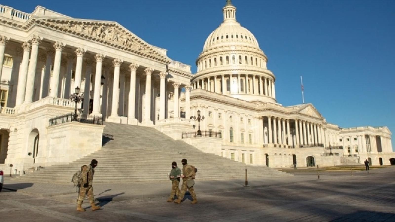 Mỹ siết chặt an ninh, chuẩn bị mọi phương án bảo vệ lễ nhậm chức của ông Biden