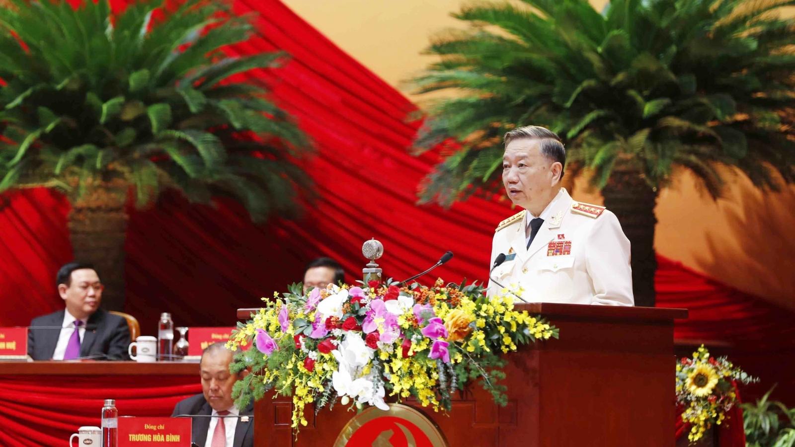 """Đại tướng Tô Lâm: """"Đảng lựa chọn Công an trong những người trung thành nhất với Đảng"""""""