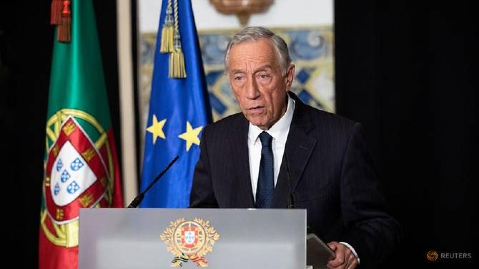Tổng thống Bồ Đào Nha mắc Covid-19