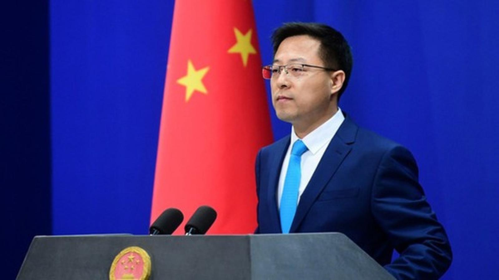 Trung Quốc yêu cầu Mỹ không phát đi thông điệp saivới thế lực đòi độc lập cho Đài Loan