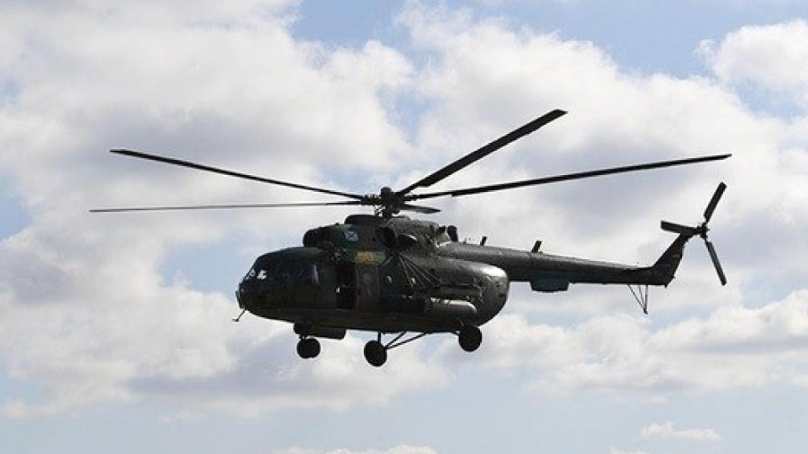 Rơi trực thăng quân sự làm 7 người thiệt mạng ở Philippines