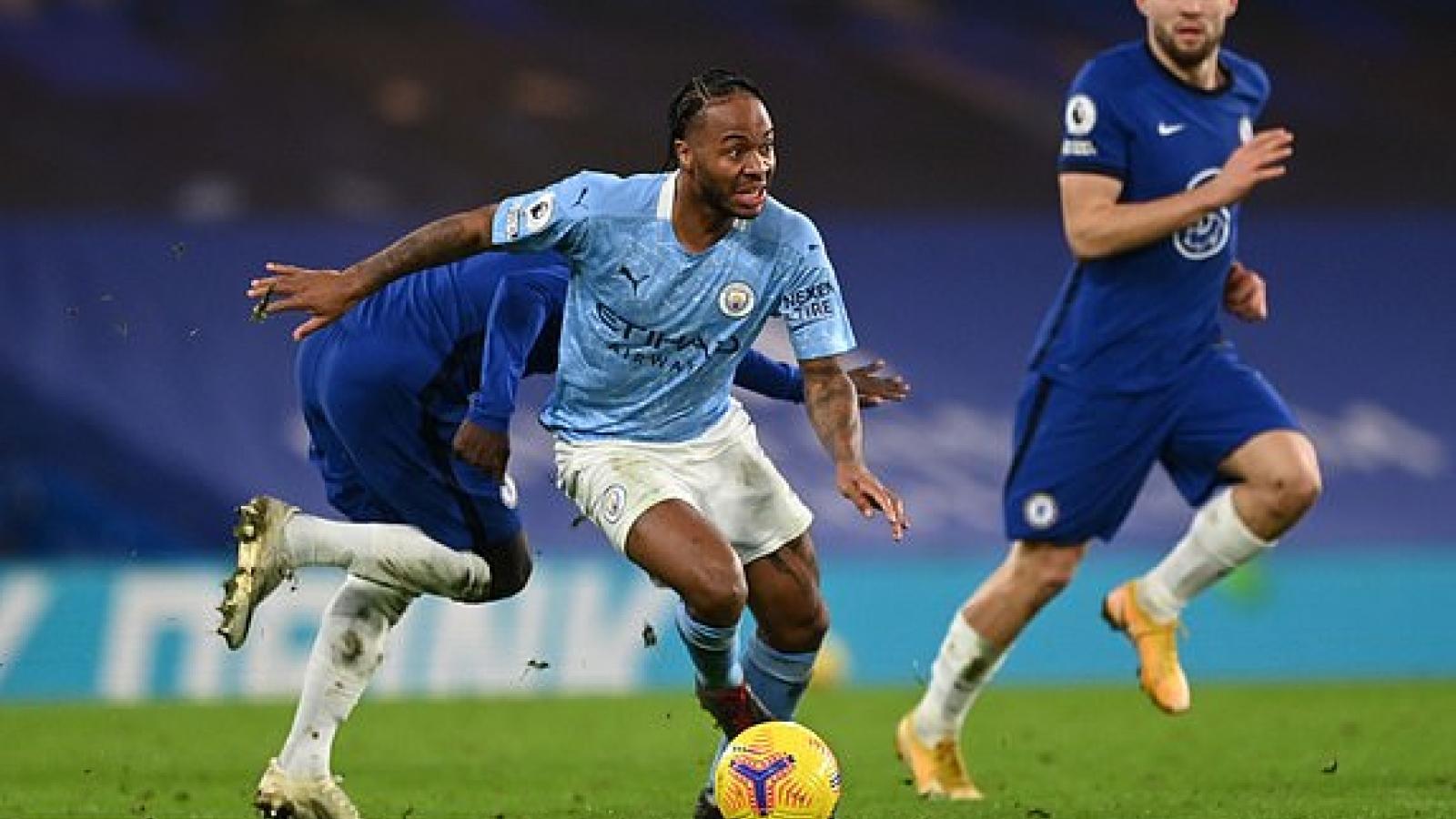 """Sao trẻ nước Anh rực sáng, Man City """"đè bẹp"""" Chelsea ngay tại Stamford Bridge"""